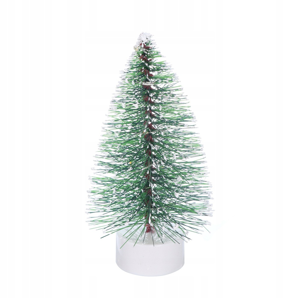1 pc Christmas Tree Decor Świąteczna Lampa LED Min