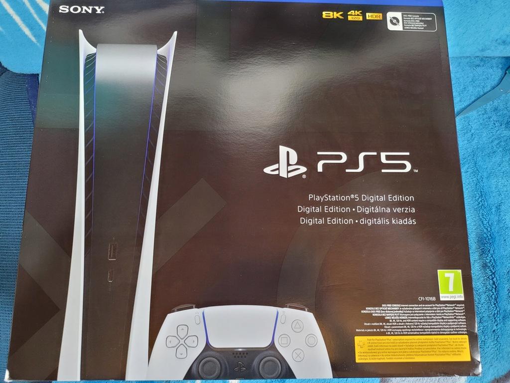 Konsola Sony PlayStation 5 Digital Edition