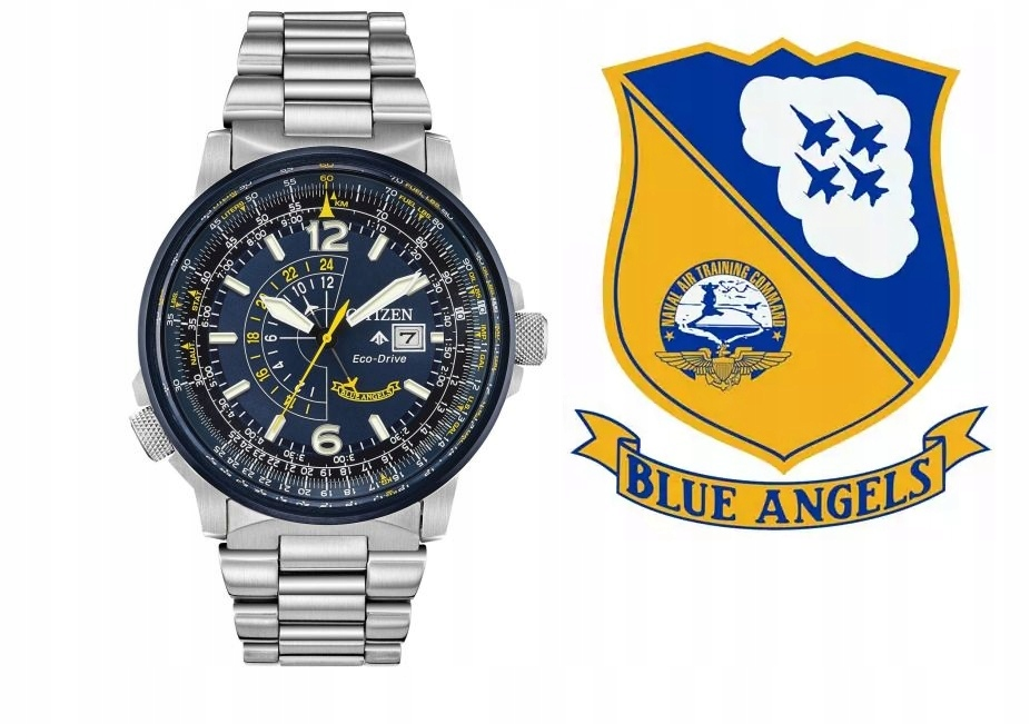 Citizen Promaster Blue Angels zegarek męski 200M