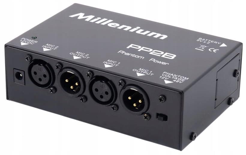 Przedwzmacniacz mikrofonowy Millenium PP2B