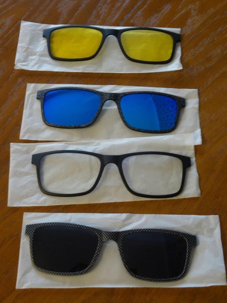 Oprawki okulary Solano CL 90047 SET z zestawem nakładek
