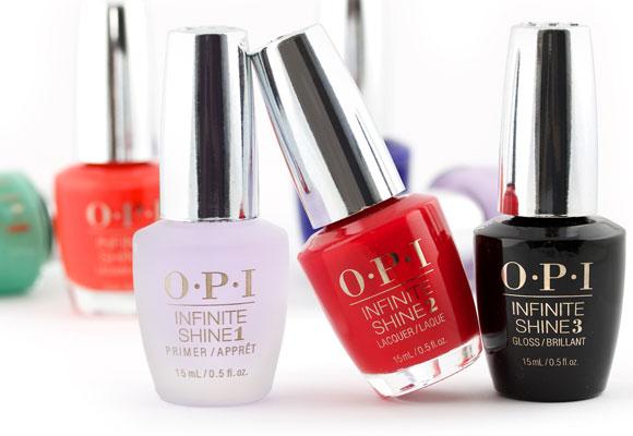 OPI Infinite Shine Baza Top Kolor ZESTAW 3 sztuki