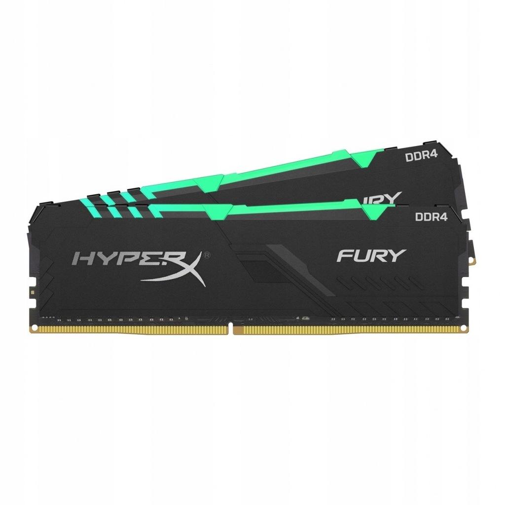 Pamięć DDR4 Fury RGB 32GB/2666 (2*16GB) CL16