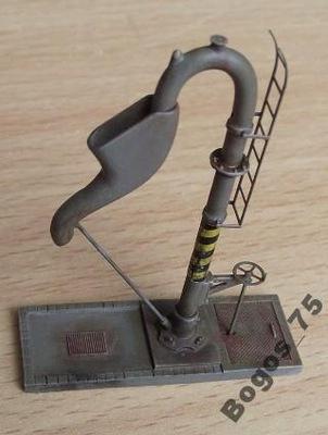 N - Żuraw kran wodny makieta diorama 1:160