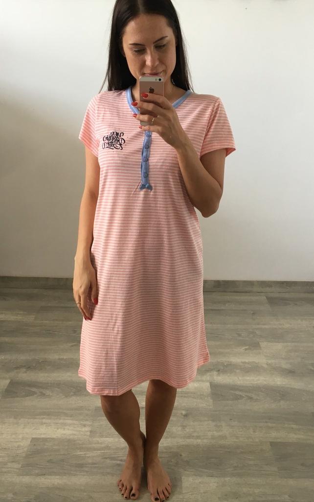 Koszula nocna Benter Różowa r.XXL (61608) 7314658503  AP3sI