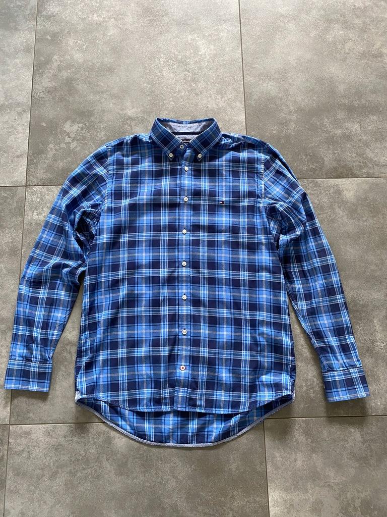 TOMMY HILFIGER koszula r. L BDB slim fit