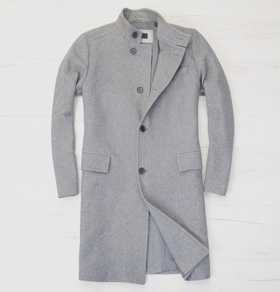 Hugo Boss * Płaszcz Wełniany Nowa Kolekcja * 52