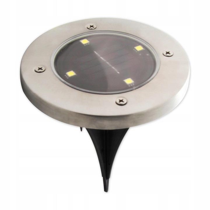 lampa LED solarna ogrodowa wbijana
