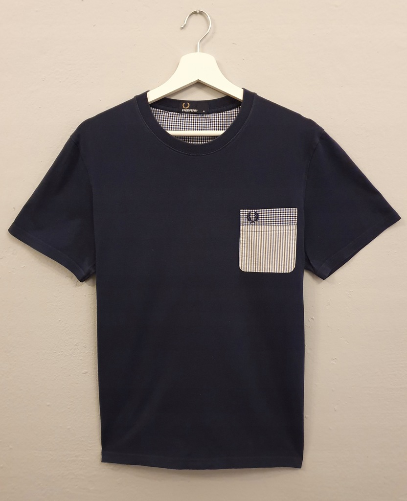 Fred Perry T-Shirt Patterned Pocket