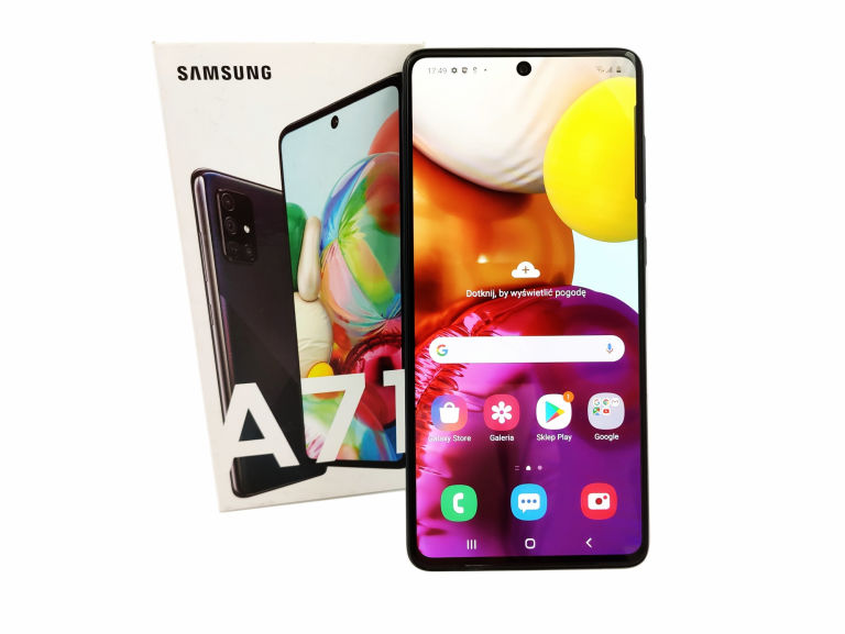TELEFON SAMSUNG GALAXY A71 6/128GB DUALSIM AMOLED