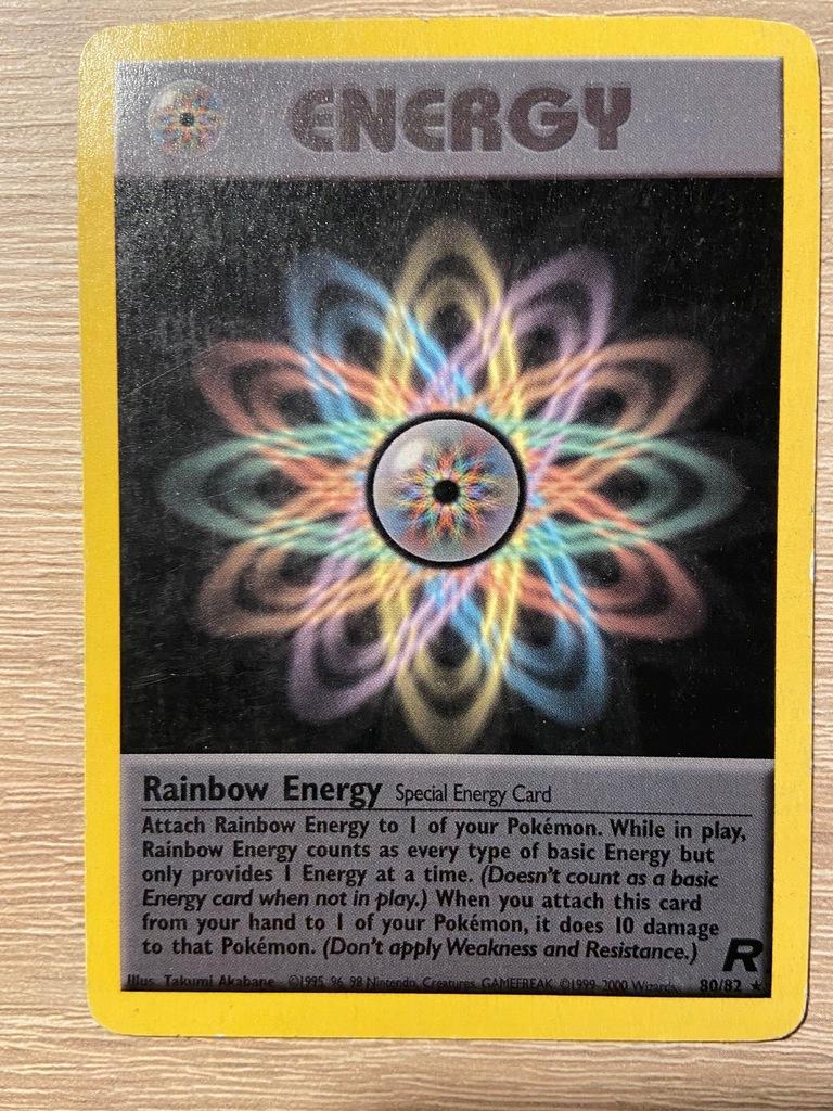 Energy Rare TCG Pokemon Team Rocket