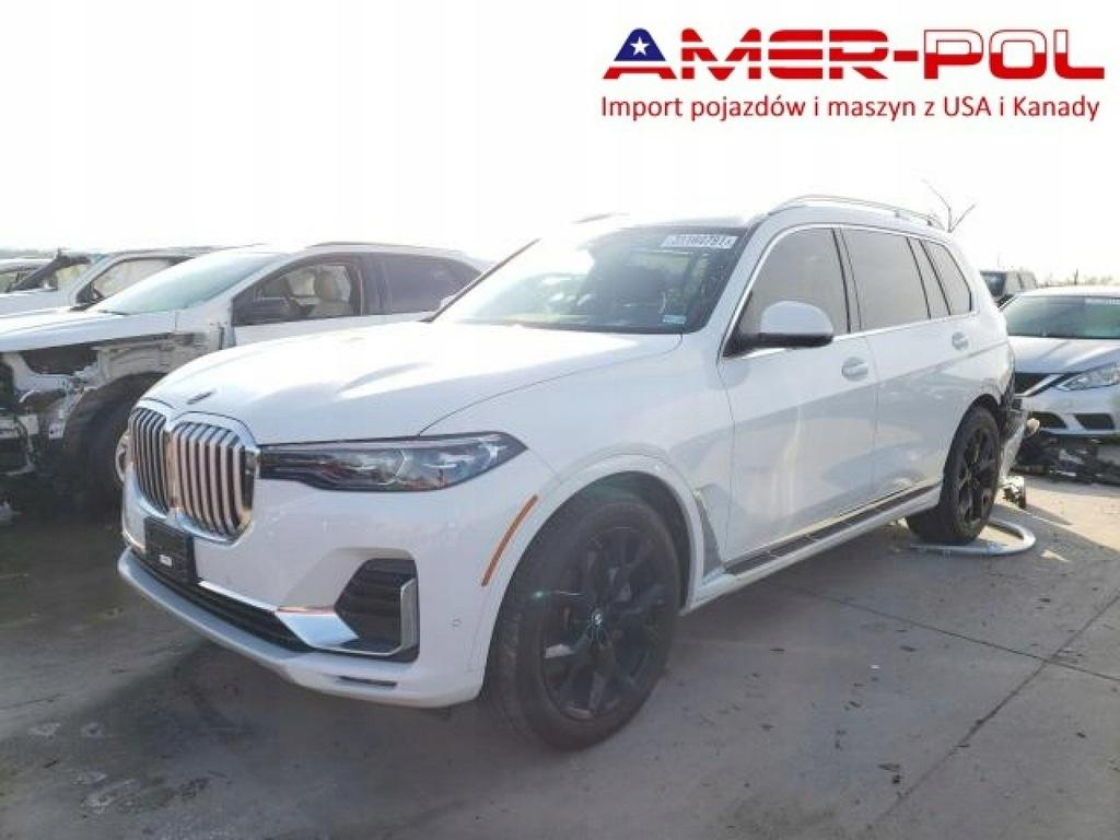 BMW X7, 2021, 3.0L, 4x4, uszkodzony tył