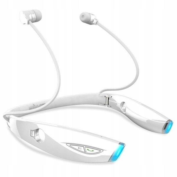 Sportowe słuchawki bezprzewodowe Zealot H1 (białe)