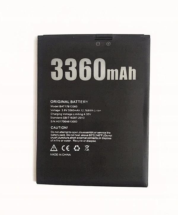 Doogee X30 - bateria 3360mAh