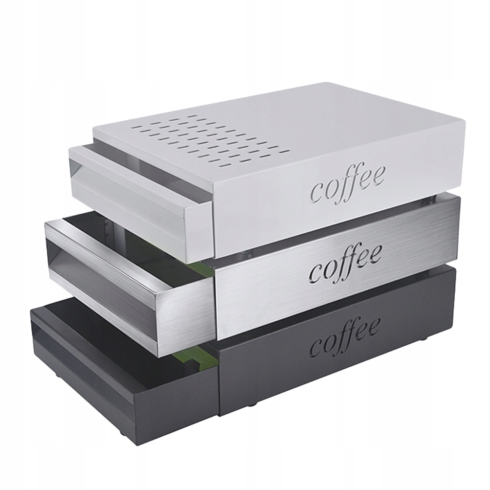 1 szt. Młynek do kawy ze stali nierdzewnej Kosz na
