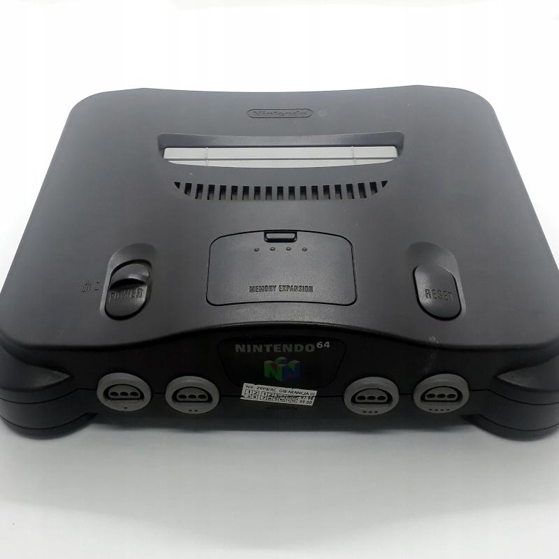 Konsola Nintendo 64 + Tribute 64 PIXELRETROSHOP