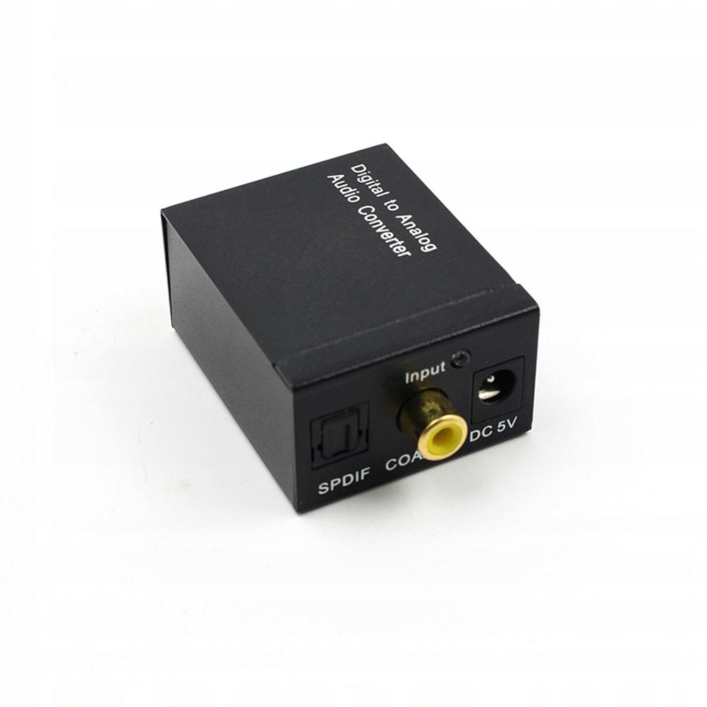 Konwerter dźwięku cyfrowego na analogowy Wyjścia a