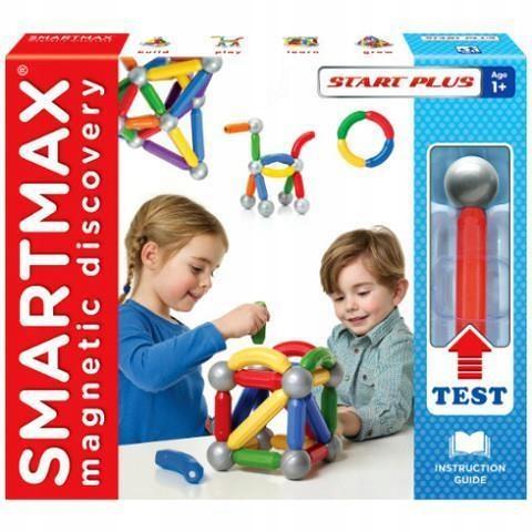 SMARTMAX START PLUS - KLOCKI MAGNETYCZNE, SMARTMAX