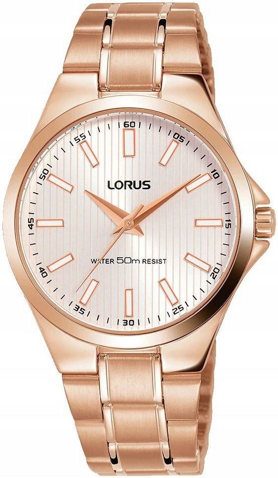 Zegarek damski Lorus RG226PX9 różowe złoto NOWOŚĆ