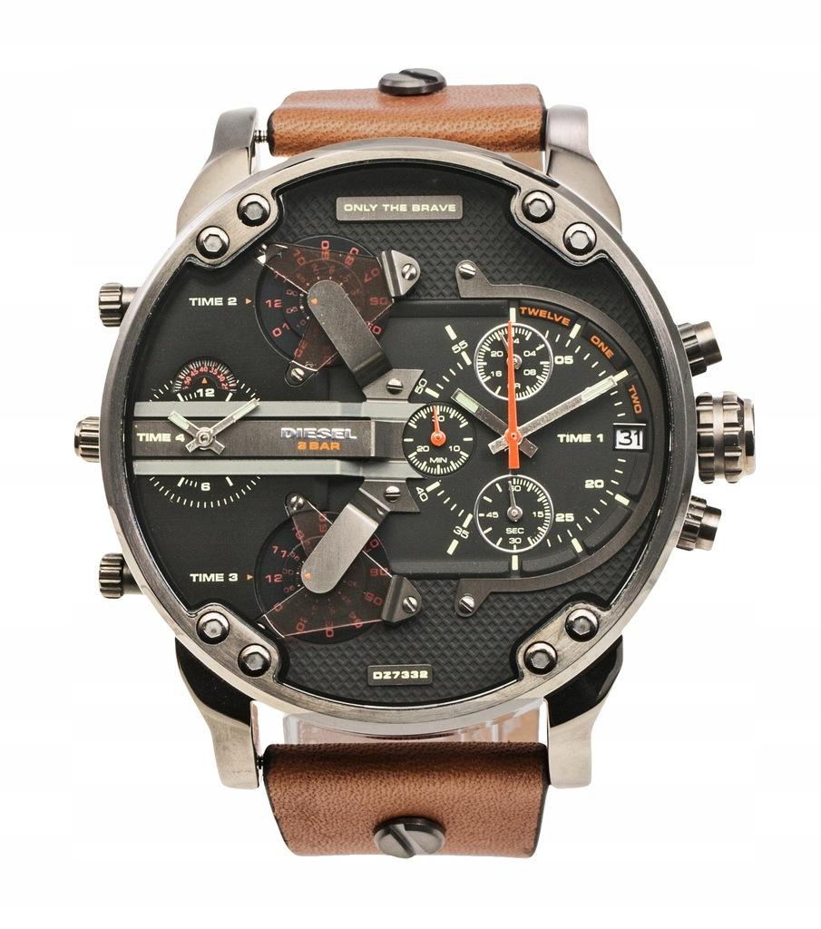 Zegarek DIESEL brązowy