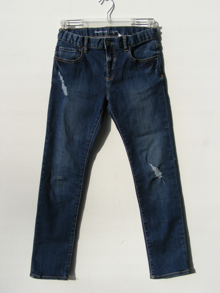 GAP REGULAR SKINNY jeansy z regulacją 150-157 cm