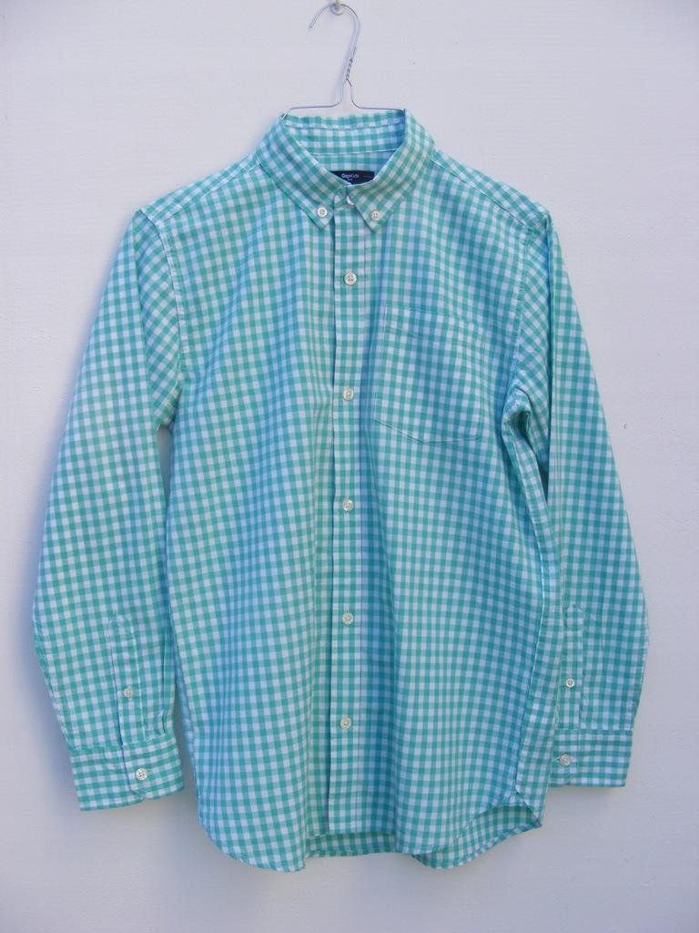 GAP bawełniana koszula w kratkę 12 lat 150 cm
