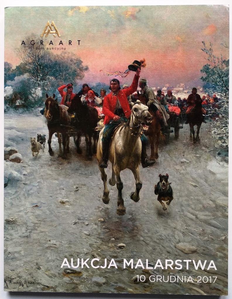 AGRA-ART – katalog aukcji dzieł sztuki 10.12.2017