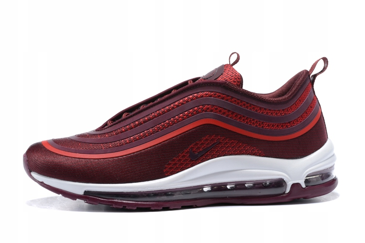 NIKE Air Max 97 ULTRA '17 Bordowe r.43