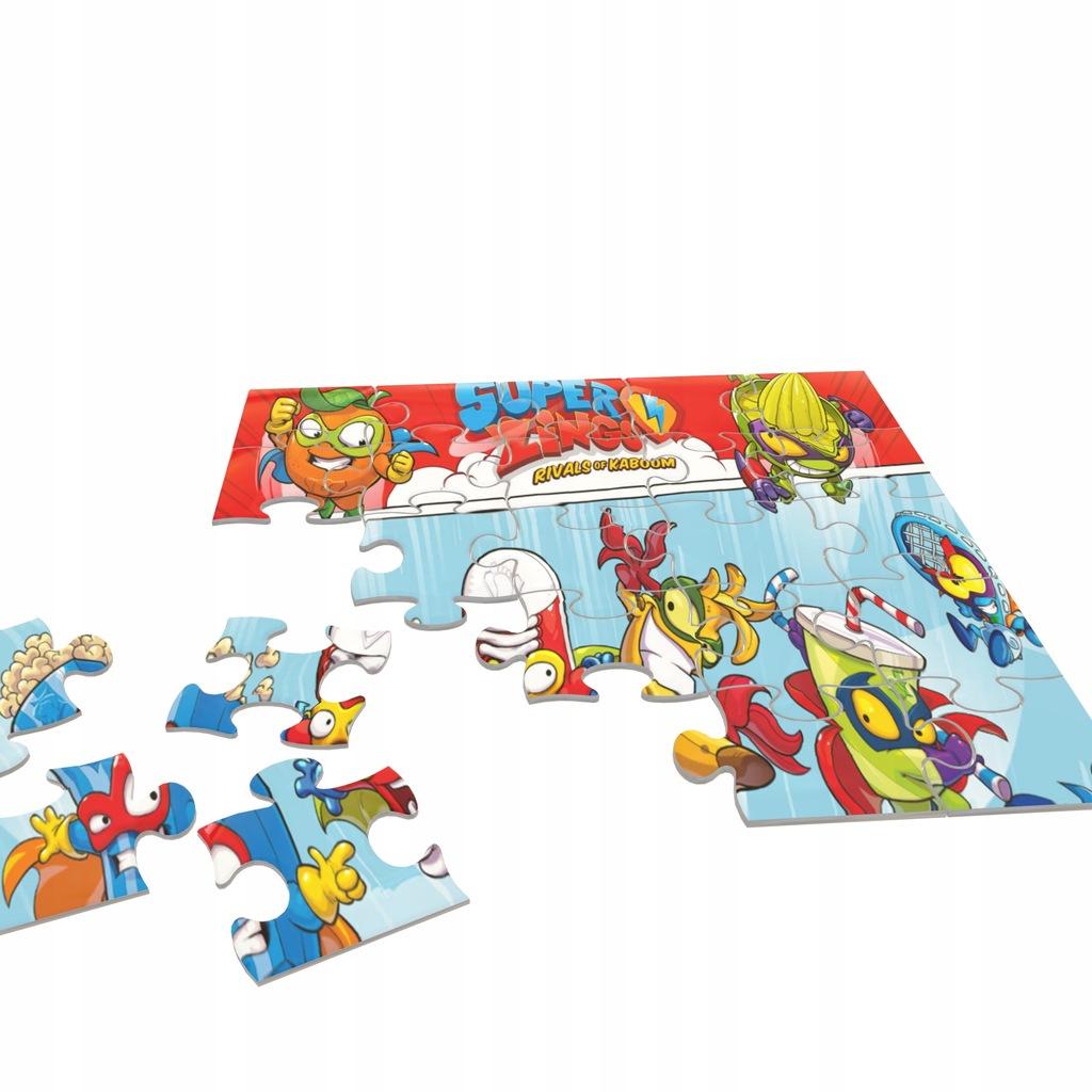 Super Zings Puzzle + Gratis
