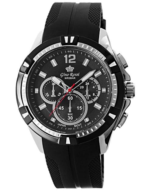 Zegarek MĘSKI Gino Rossi na pasku WODOSZCZELNY