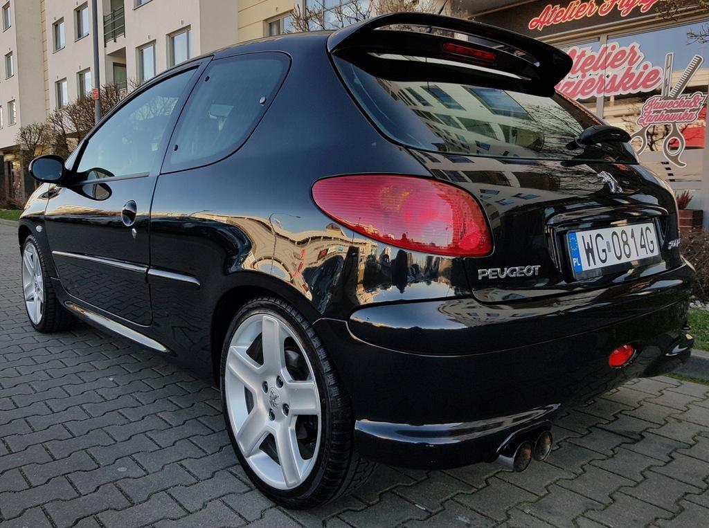 Peugeot 206 2 0 Rc 177 Km Doinwestowany 9200903529 Oficjalne Archiwum Allegro