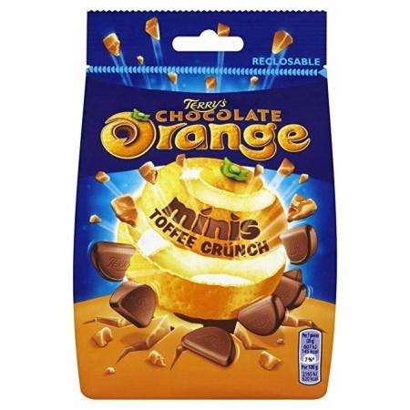 TERRY'S ORANGE czekolada z pomarańczą + toffee125g