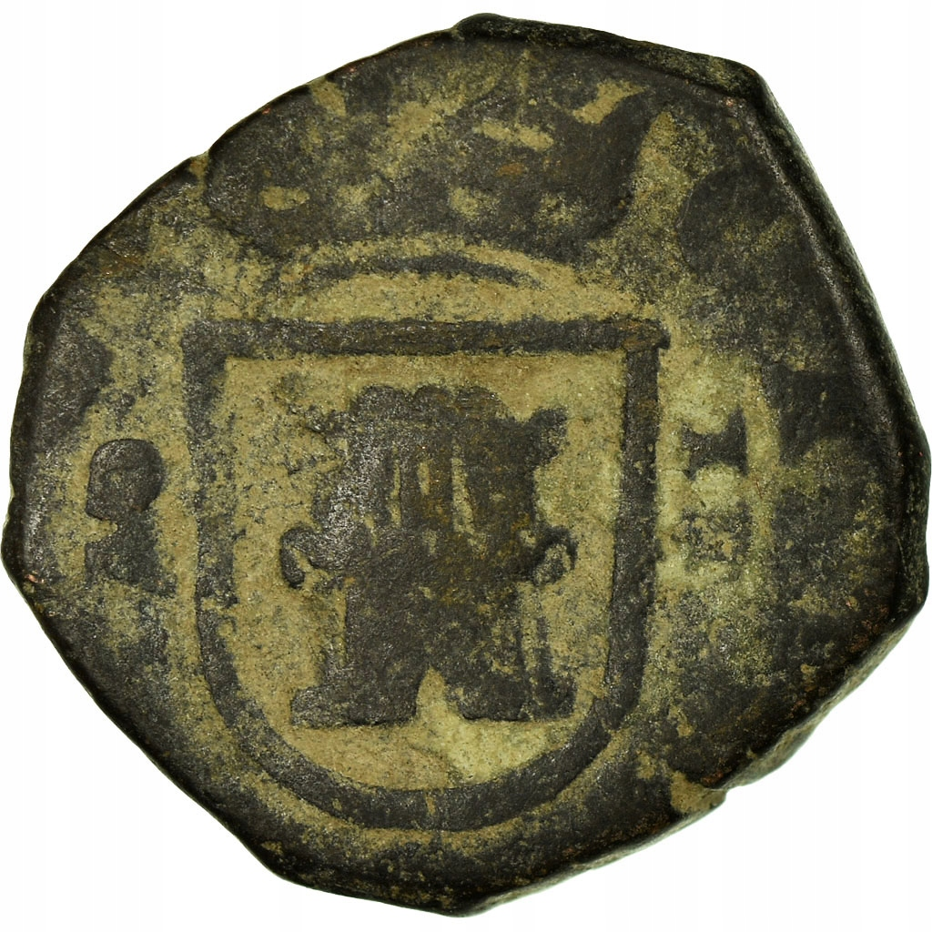 Moneta, Hiszpania, Philip III, 4 maravedis, Madrid