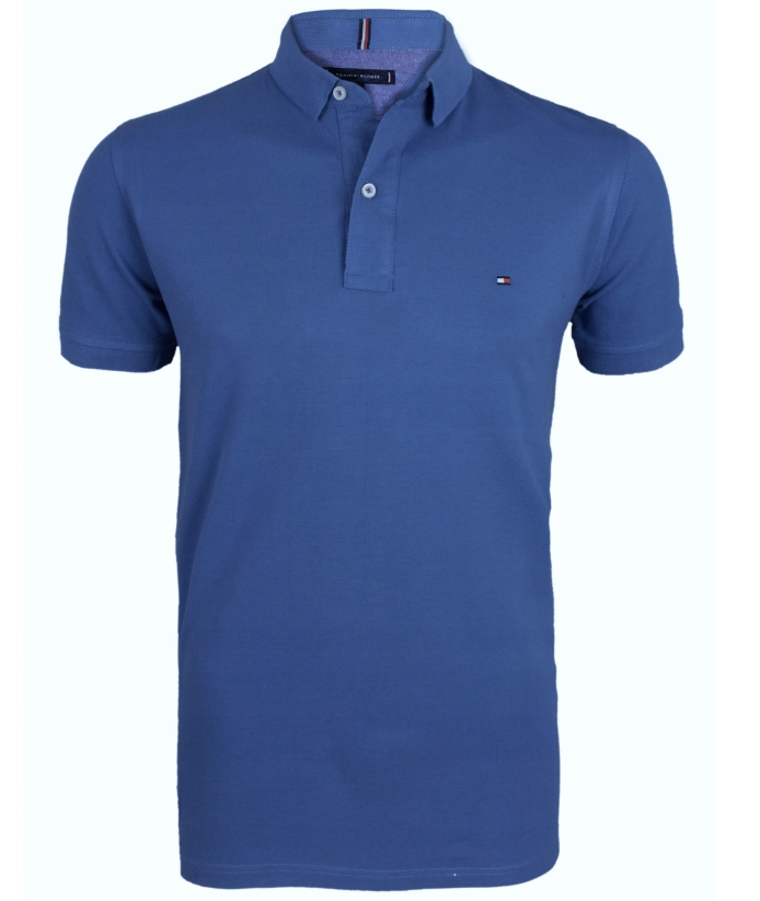 Koszulka Polo Tommy Hilfiger Niebieska Rozmiar L
