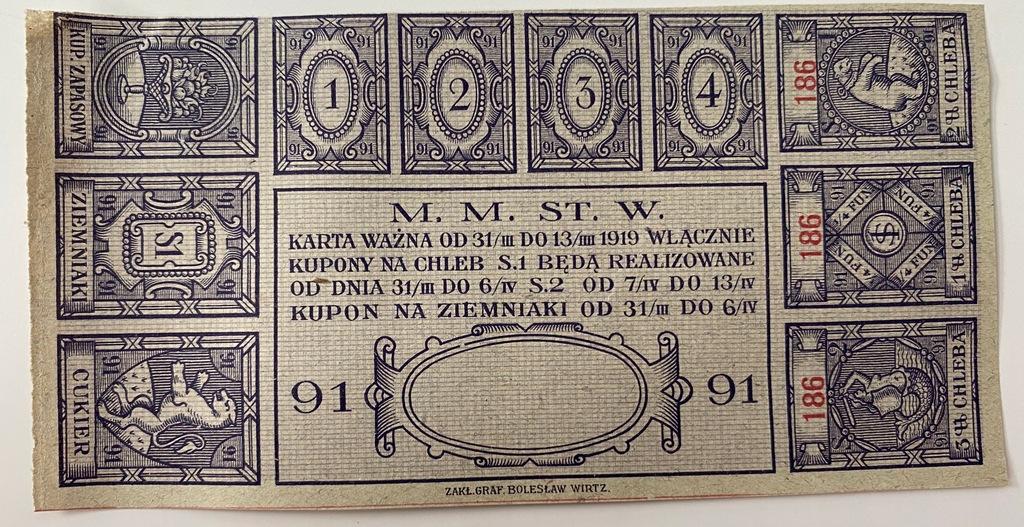 3663. Warszawa okres 91