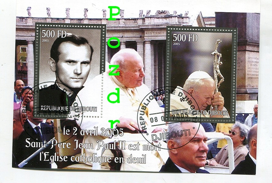 Papież Jan Paweł II - Dżibuti 2005r