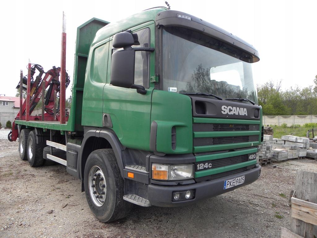 Scania 6x4 Do Drewna Drzewa Lasu 2003r Hds 2004 8077854829 Oficjalne Archiwum Allegro