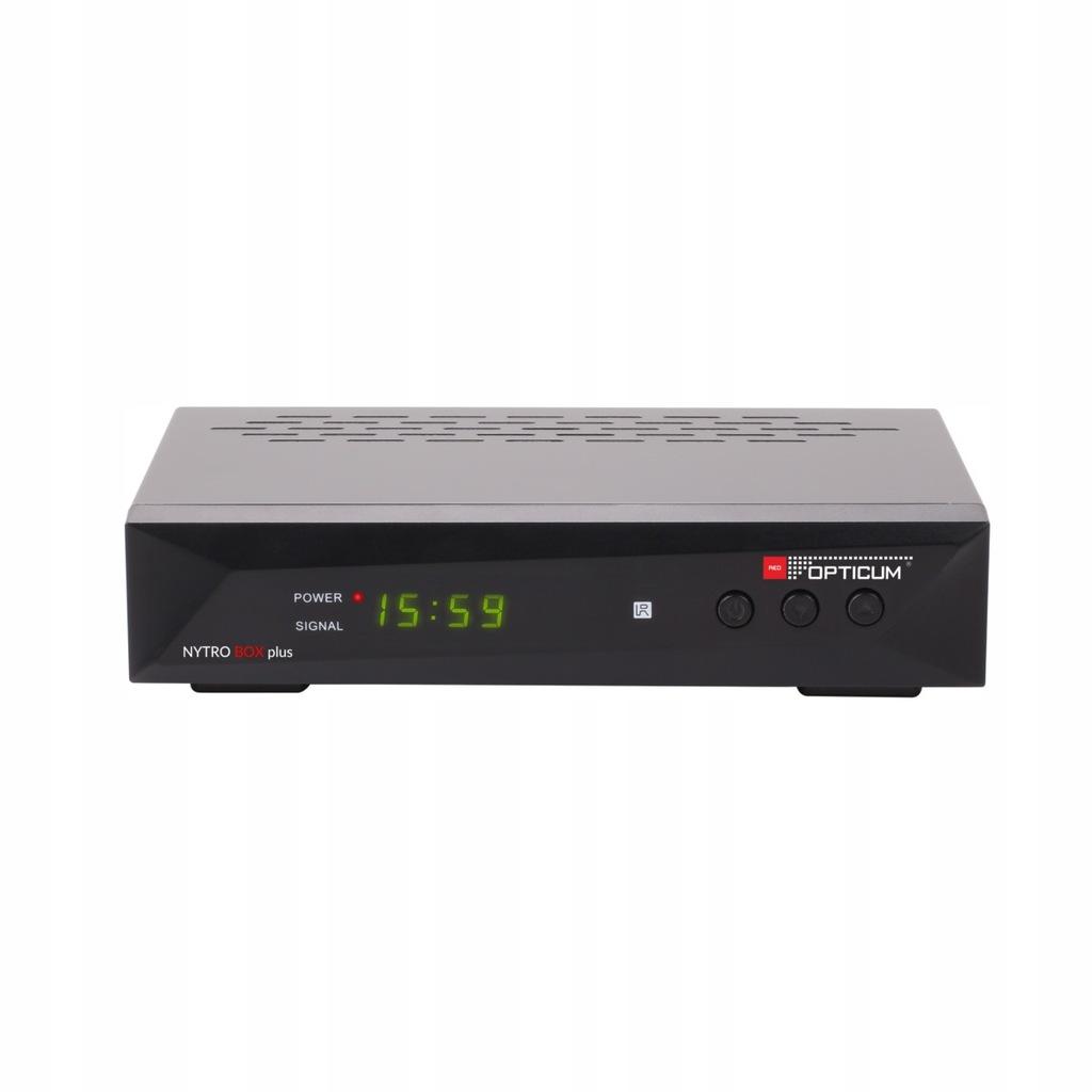 Tuner Opticum AX NYTRO BOX PLUS DVB-T/T2/C H.265