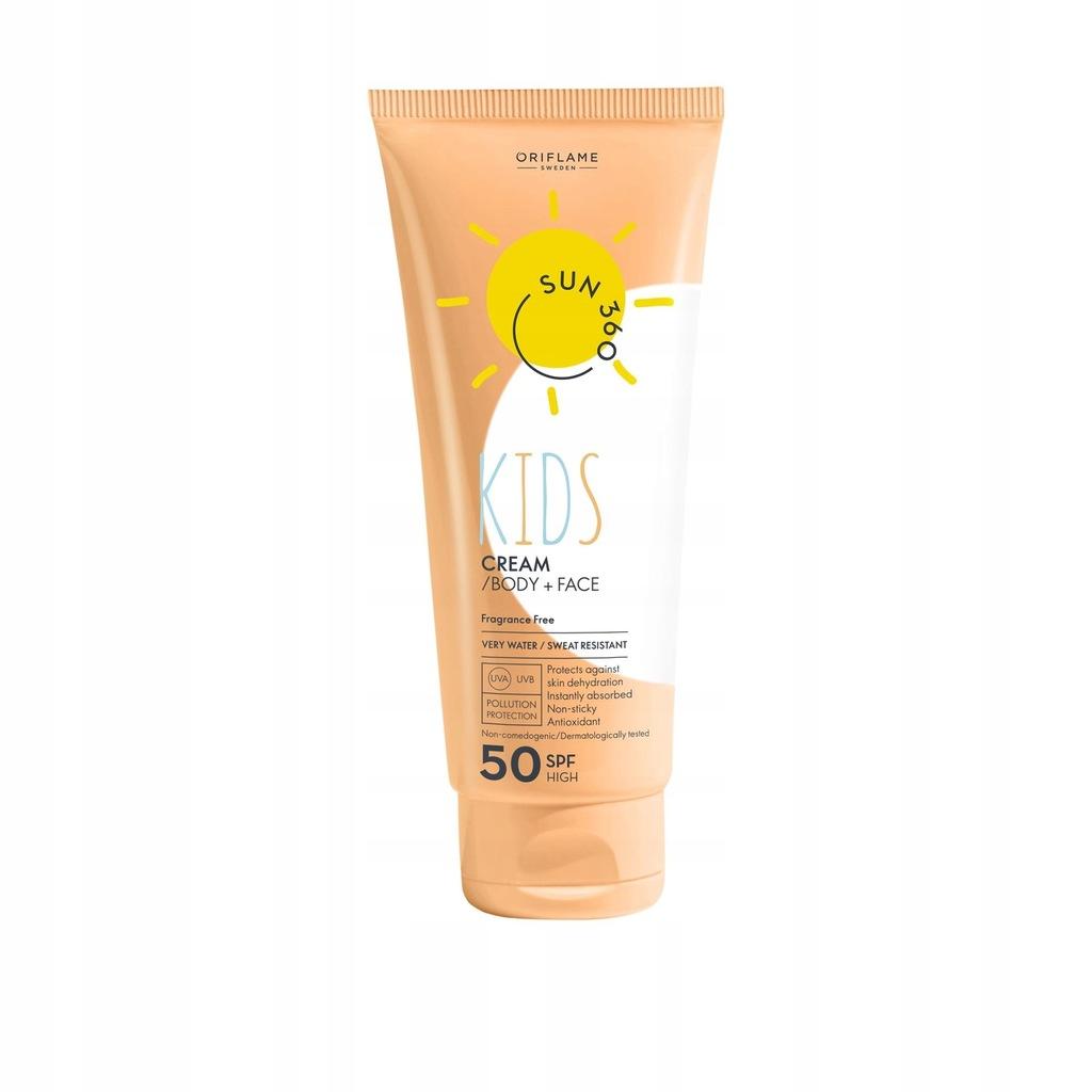 Krem do opalania SPF 50 Sun 360 dla dzieci Oriflam