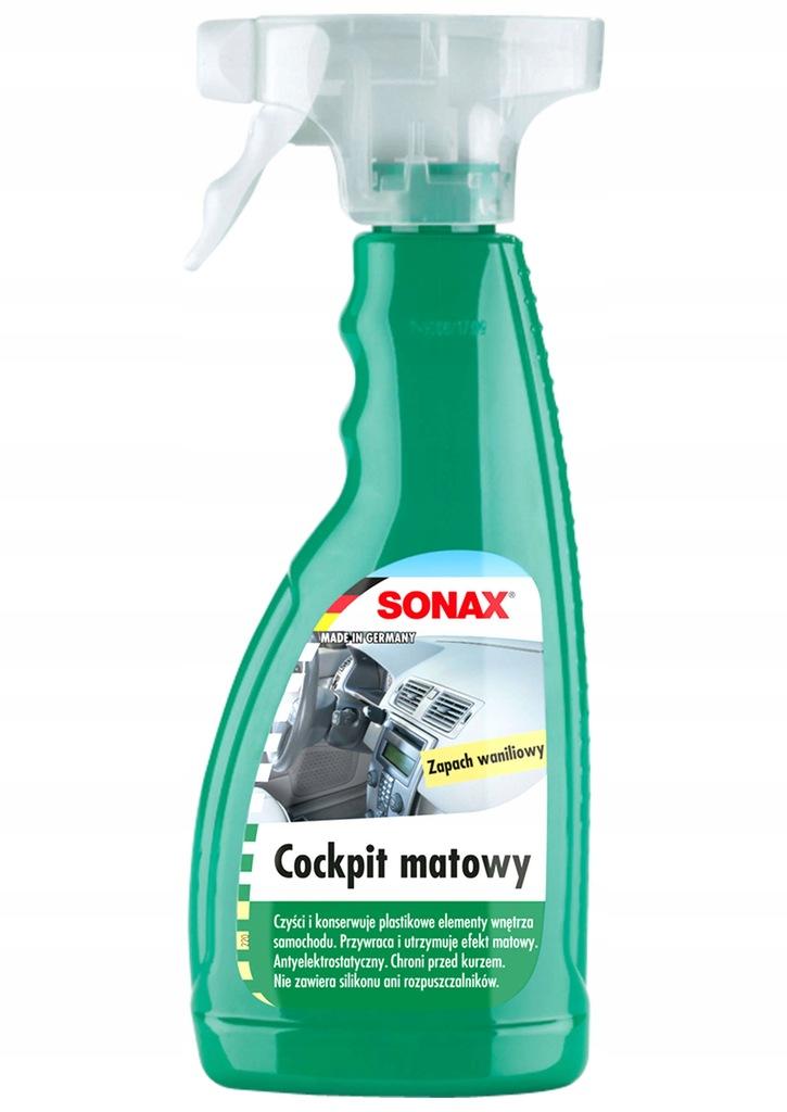 Sonax Cockpit matowy Wanilia 500ml.