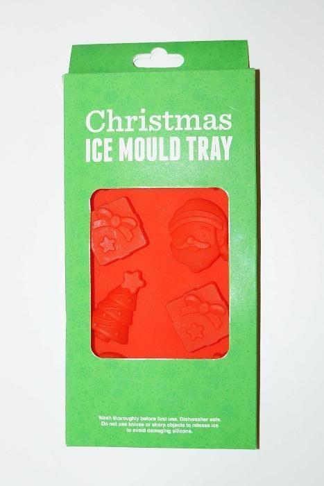 Nowa silikonowa foremka na święta - żelki, lód