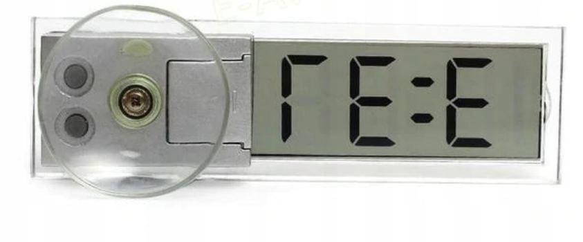 termometr cyfrowy samochodowy na przyssawce