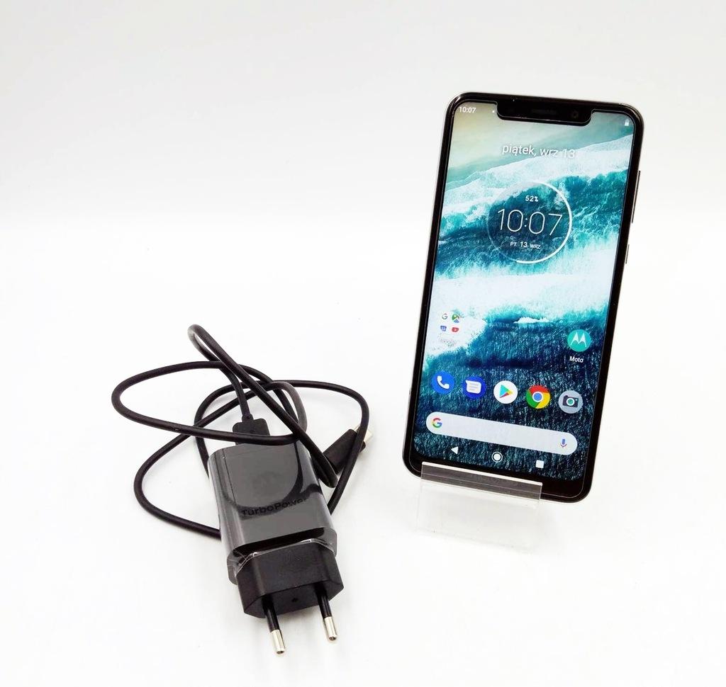 Smartfon Motorola One biały 64 GB
