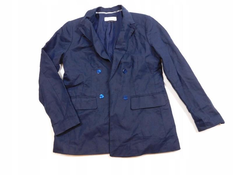 RESERVED ŻAKIET blazer DWURZĘDOWY len r. XL*G2990