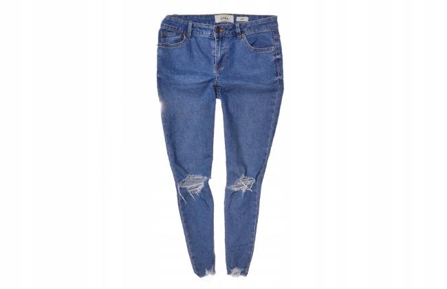 new look spodnie jenna z dziurami