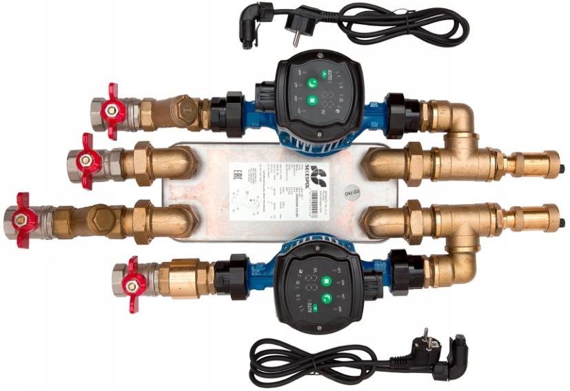 Wymiennik pompa zestaw wkład wodny płaszcz 30 KW