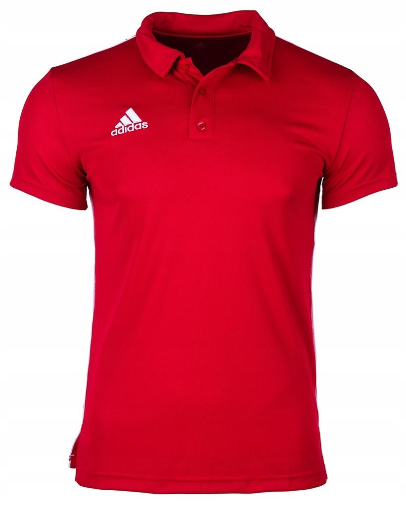 Adidas koszulka polo meska Core 18 CV3591 roz. M