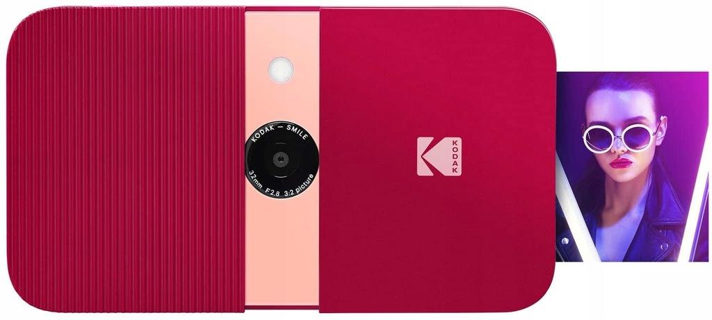 Aparat natychmiastowy Kodak Smile czerwony