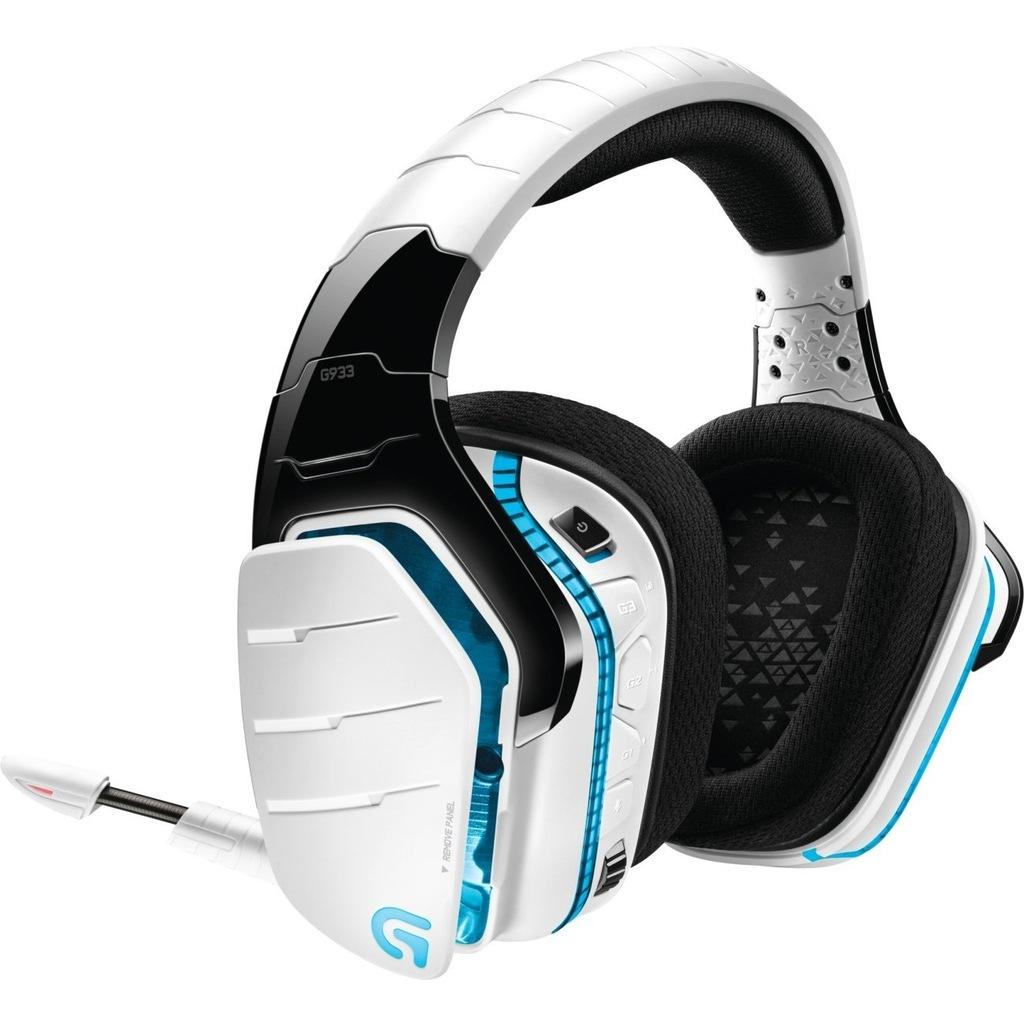 Słuchawki Logitech G933 Artemis Spectrum 7.1 Białe
