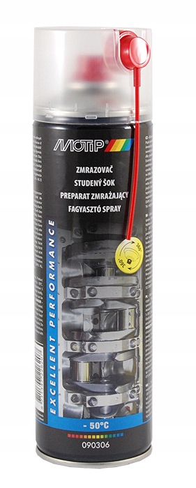 Preparat zmrażacz spray 500ml MOTIP 090306